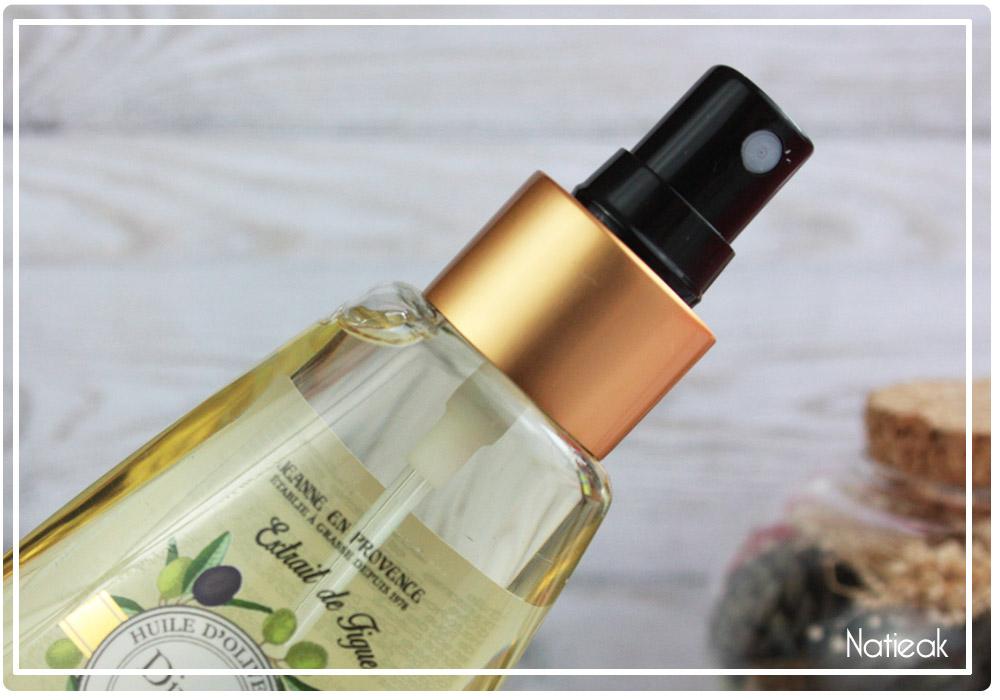 huile sèche cheveux sans silicone
