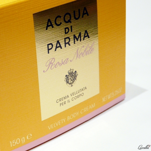 Rosa Nobile de Acqua di Parma Body Cream