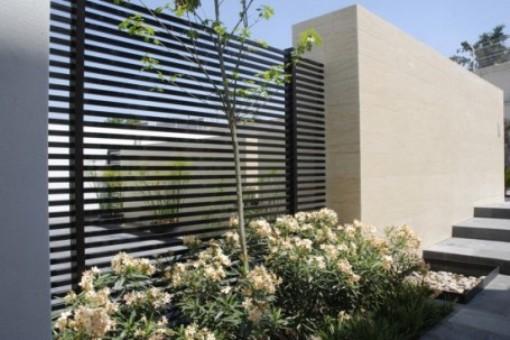Gambar taman dinding minimalis Depan Rumah Paling Indah ...