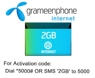 Gp Internet 2GB Package-350 Taka