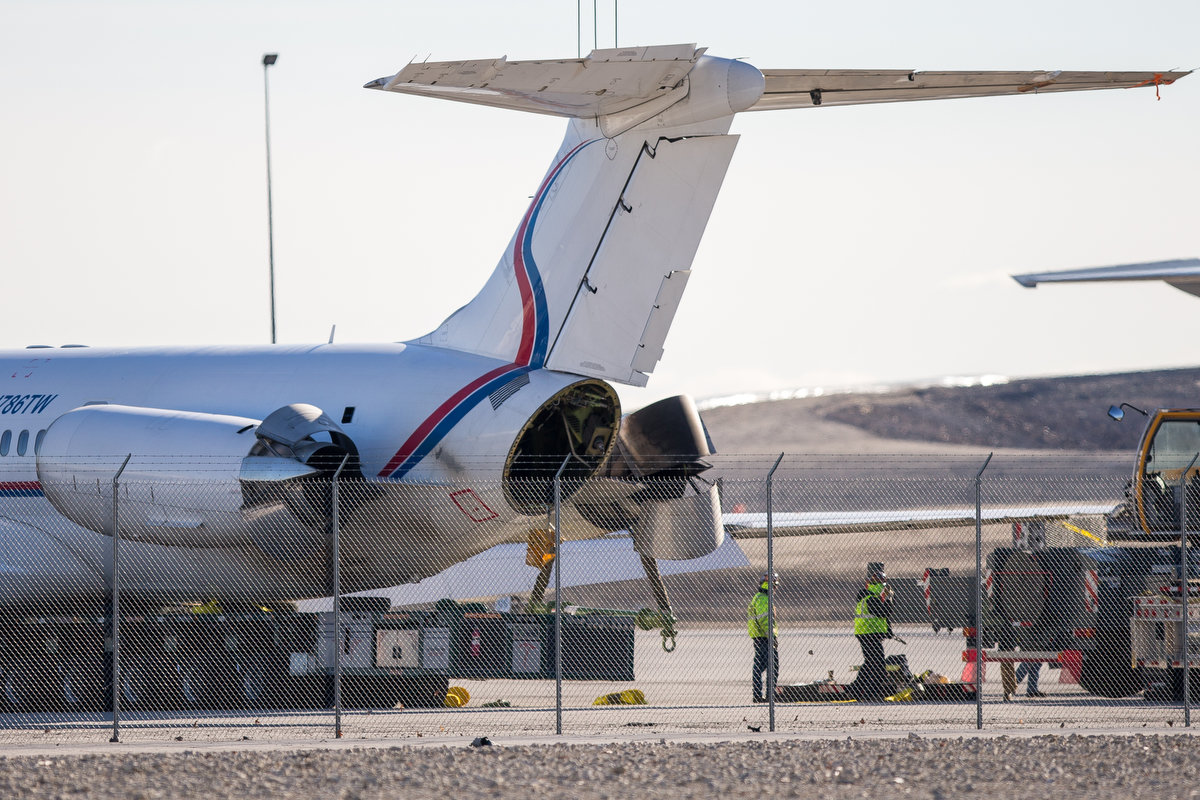 Kathryn39s Report McDonnell Douglas MD83 Ameristar Jet Charter N786TW