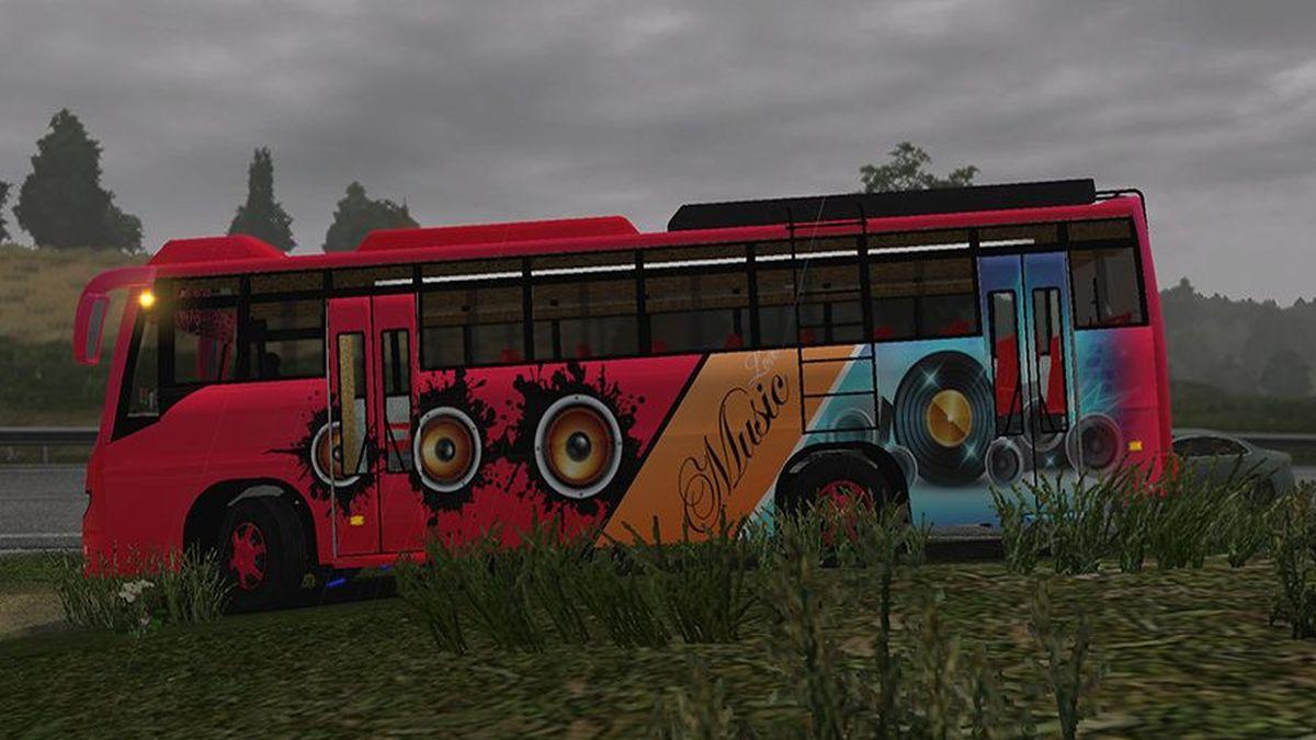 Ashok Leyland V02 Bus Tabbu Skin