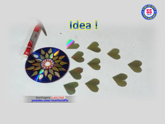 Here is how to make reuse from old cd at home,recycled cd craft ideas,best out of waste from recycled cd,cd crafts for preschoolers,cd crafts for adults,how to make things from recycled cd at home,recycled cd wall hanging ideas,old cd wall decor ideas,cd art and crafts for kids,diy ideas for old cd,art & craft ideas for kids,recycled materials craft ideas,valentine's day crafts using for cd,how to make beautiful wall decor using with old CD ssarts crafts nanduri lakshmi youtube channel videos