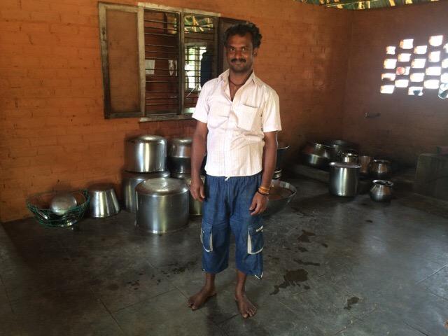 Sivananda Ashram Madurai Chef