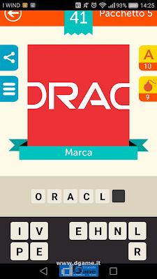 Iconica Italia Pop Logo Quiz soluzione pacchetto 5 livelli 41-75