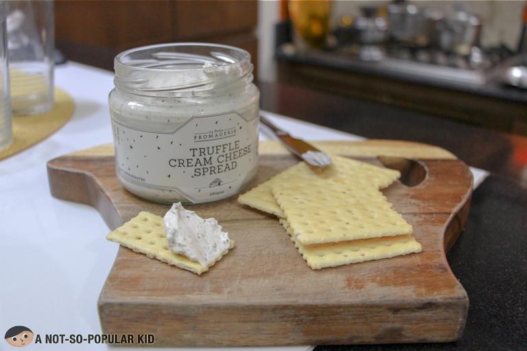 La Petite Fromagerie's Truffle Cream Cheese Spread