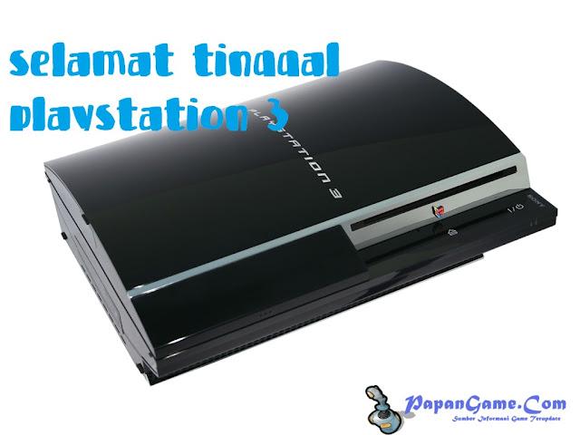 PlayStation 3 Sudah Tidak Akan Lagi Diproduksi Di Jepang