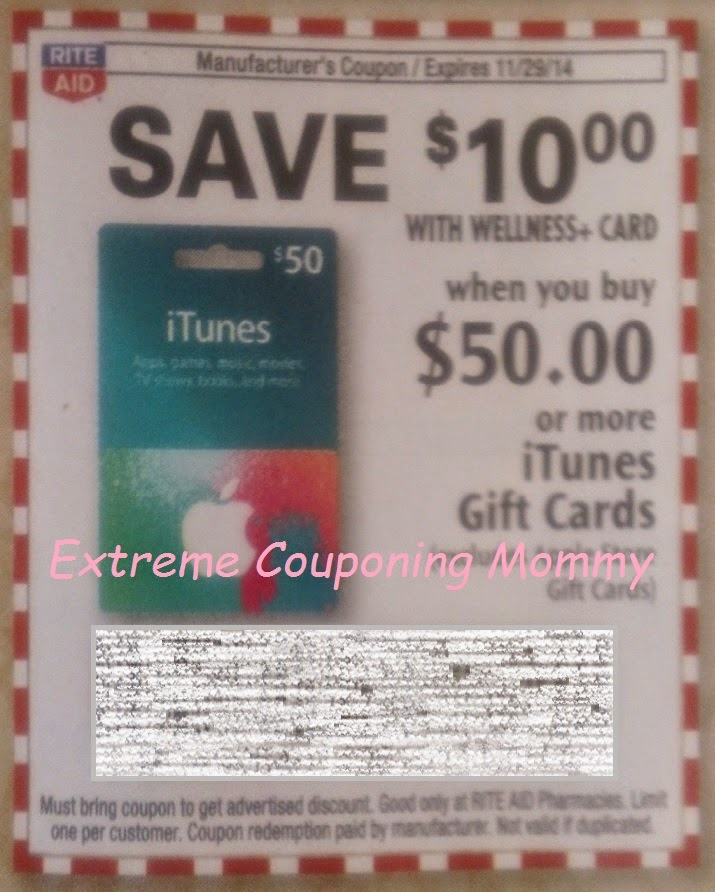 Extreme Couponing Mommy: MONEYMAKER Rite Aid Gift Card