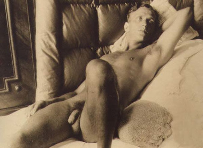 Good Vintage nude men naked can help