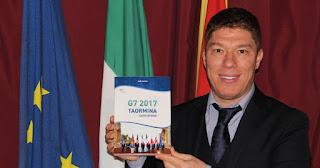 IL G7 A TAORMINA RACCONTATO IN UN LIBRO DA SARO LAGANA'