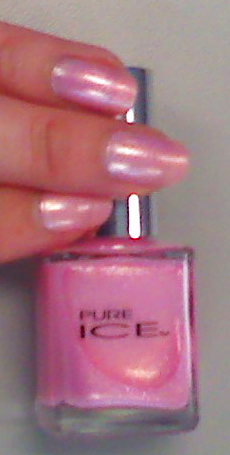 xoxoJen's swatch of Pink Ice by Pure Ice