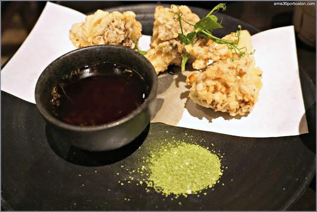 Maitake Mushroom Tempura del Restaurante Japonés Pabu