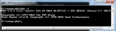 PHP Command-Line Interpreter in Hindi