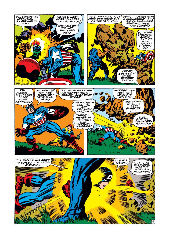 Read online Captain America (1968) comic -  Issue #102 - 18