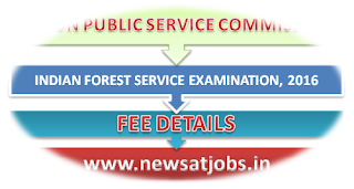 upsc+indian+forest+service+examination+2016+fee+details