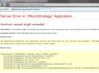 Maximum request length exceeded problem asp.net c# File Upload