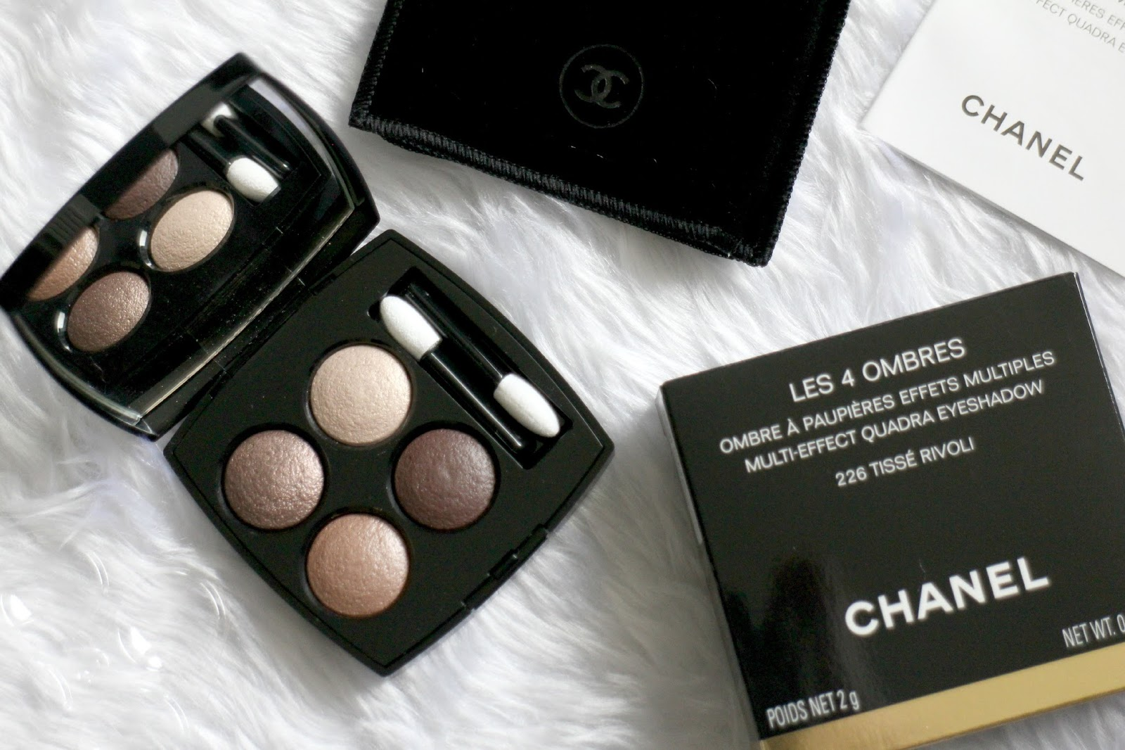 Chanel Les 4 Ombres Multi-Effect Quadra Eyeshadow in Tisse Rivoli