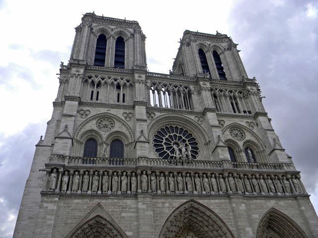 Notre-Dame, Paryż, katedra, kościoły paryskie