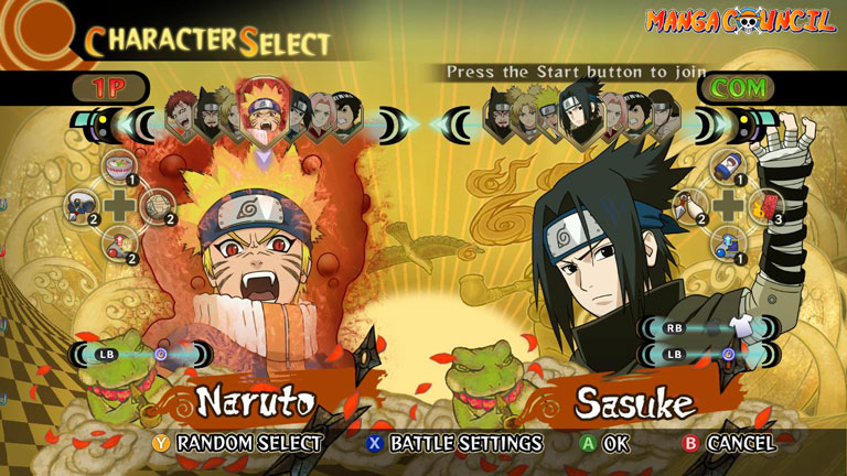 Naruto SUN Storm Legacy Save Game | Manga Council
