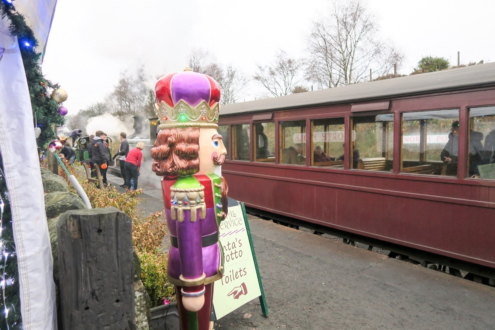Which is the best 'Santa Train' in the North East? Tanfield Railway North Pole Express or Polar Express?