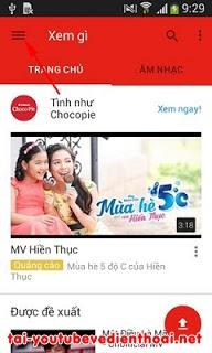 Tai youtube ve dien thoai