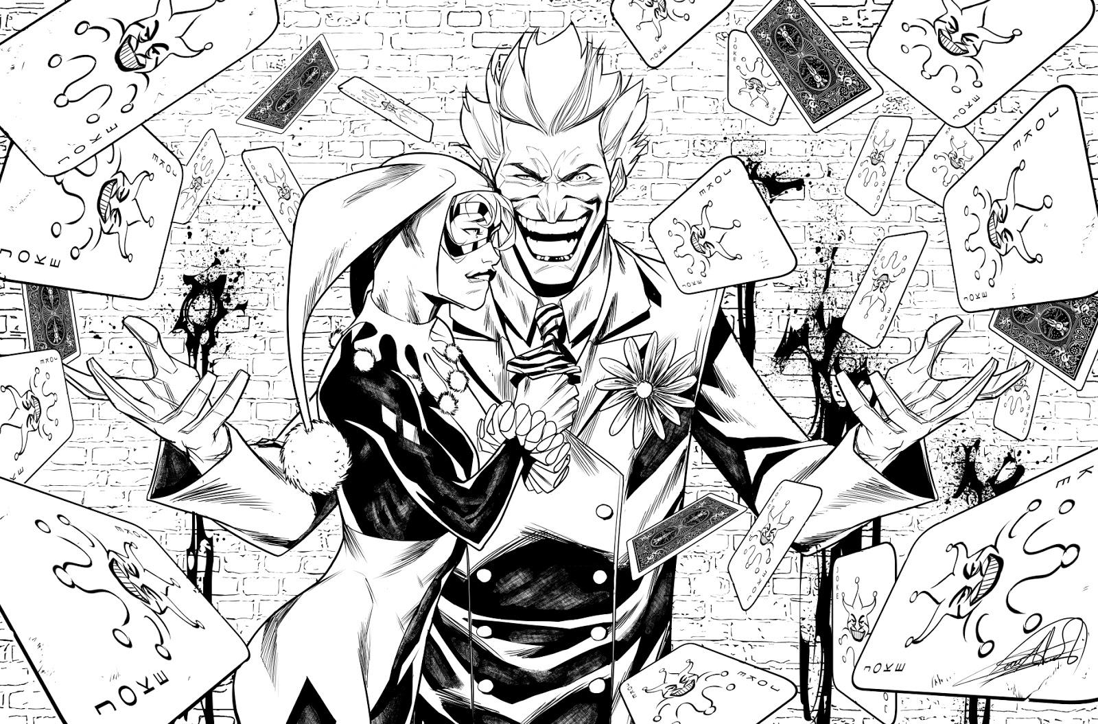 Juanan Ramirez Joker Harley Quinn