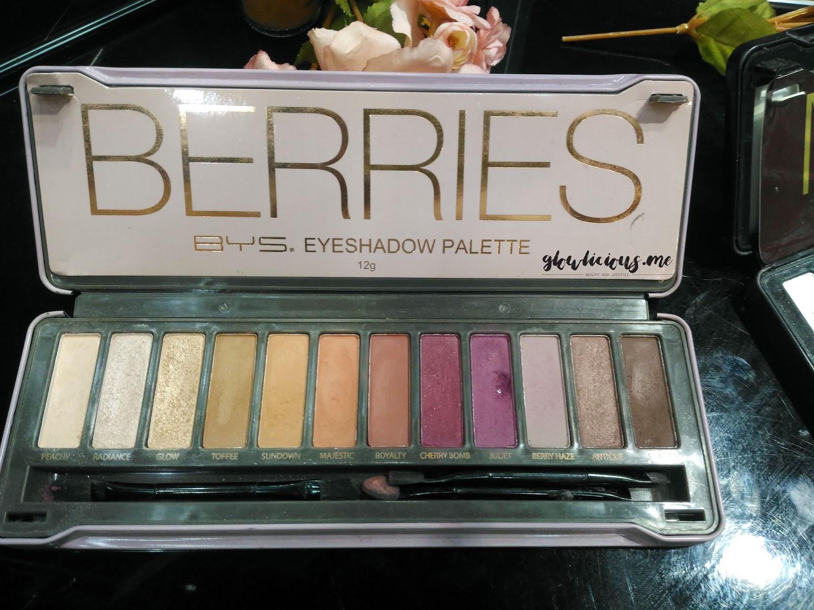 """BYS Berries Eyeshadow Palette"""""""