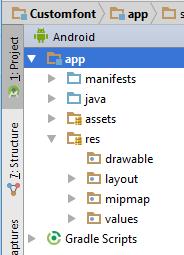 Create Asset Folder