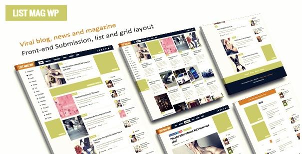 ListMag Wordpress Teması
