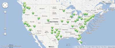 Clearwire US Coverage Map