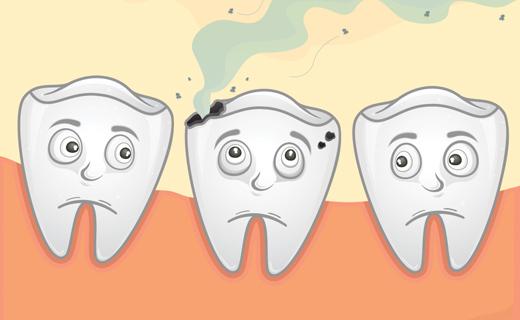شاهد | طريقة مذهلة لإزالة تسوس الأسنان نهائيًا في المنزل!!