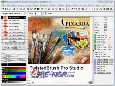 Pixarra TwistedBrush Pro Studio 23.05 Full Keygen