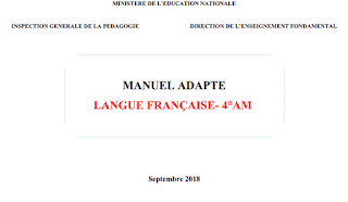 Manuel adapté français 4AM 2018-2019 PDF