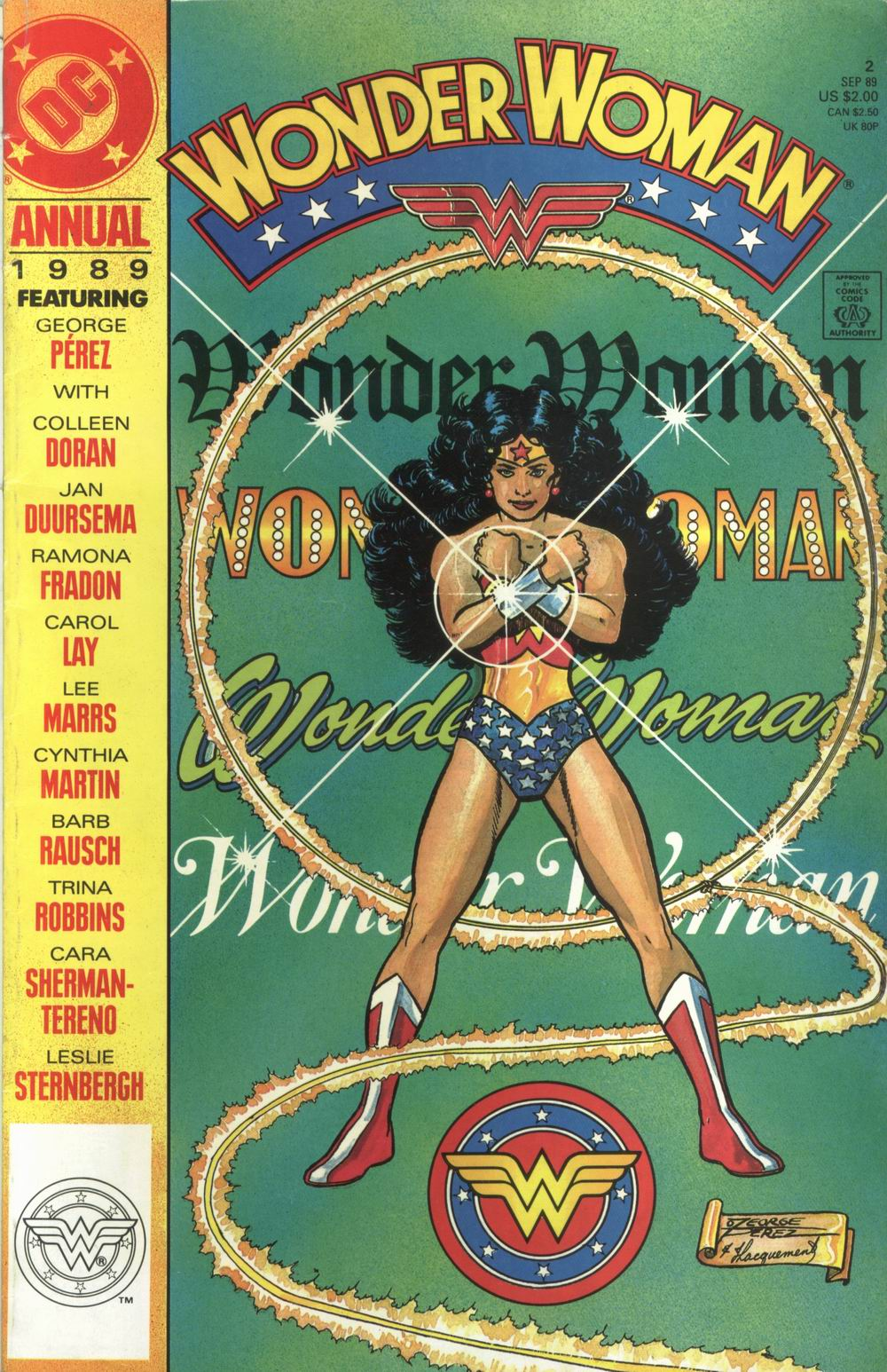 Read online Wonder Woman (1987) comic -  Issue # Annual 2 - 1