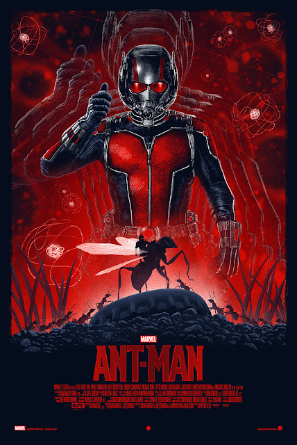 Marvel's Ant-Man Movie Poster Regular Edition Screen Print by Marko Manev x Grey Matter Art
