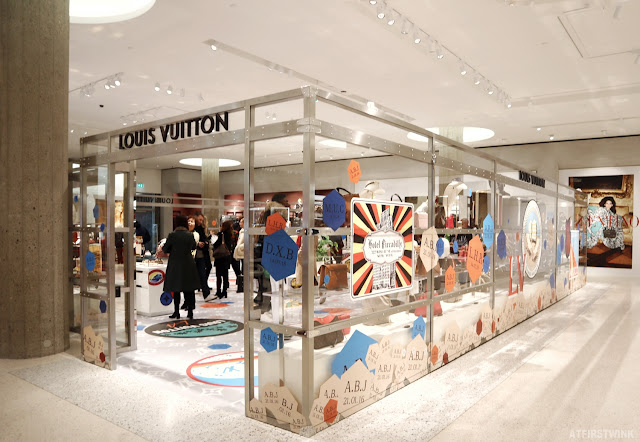 Louis Vuitton pop-up store in Bijenkorf Rotterdam