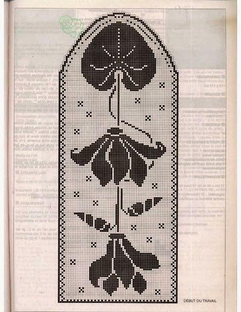 filet crochet diagram