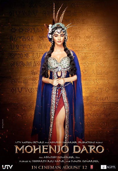 Poster Of Mohenjo Daro 2016 720p Hindi DVDScr (New Source) Full Movie
