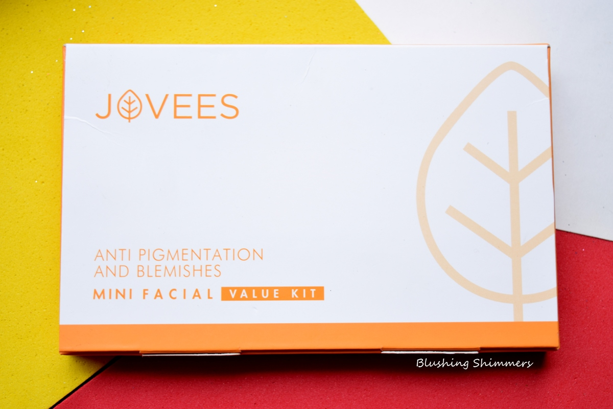 Jovees Anti Pigmentation & Blemishes Facial Kit Review