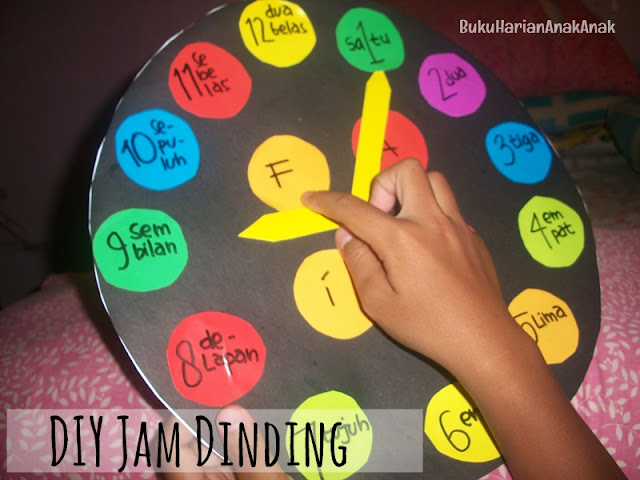DIY Jam Dinding