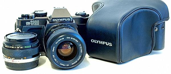Olympus OM-2000 35mm SLR Camera