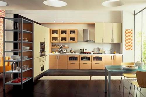 Large stunning modern kitchens