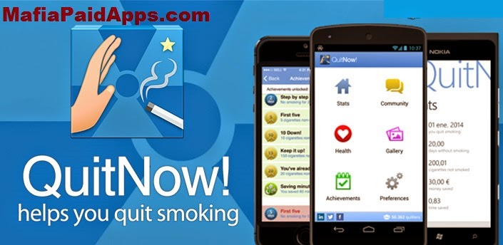 QuitNow! PRO - Stop smoking v5.76.3 Apk For Android