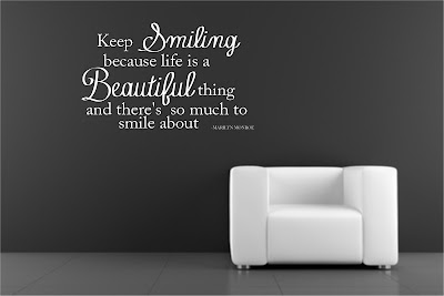 Smile happiness Quotes:keep smiling because life is a beautiful thing and there's so much to smile about