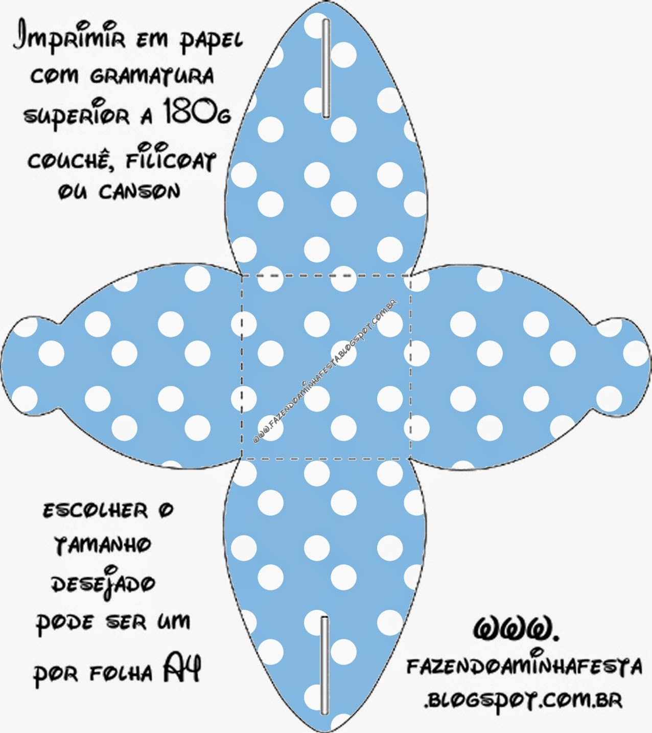 light blue with white polka dots free printable boxes oh my