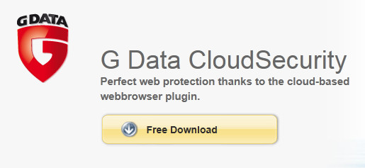 G Data CloudSecurity - Free browsing protection for Firefox