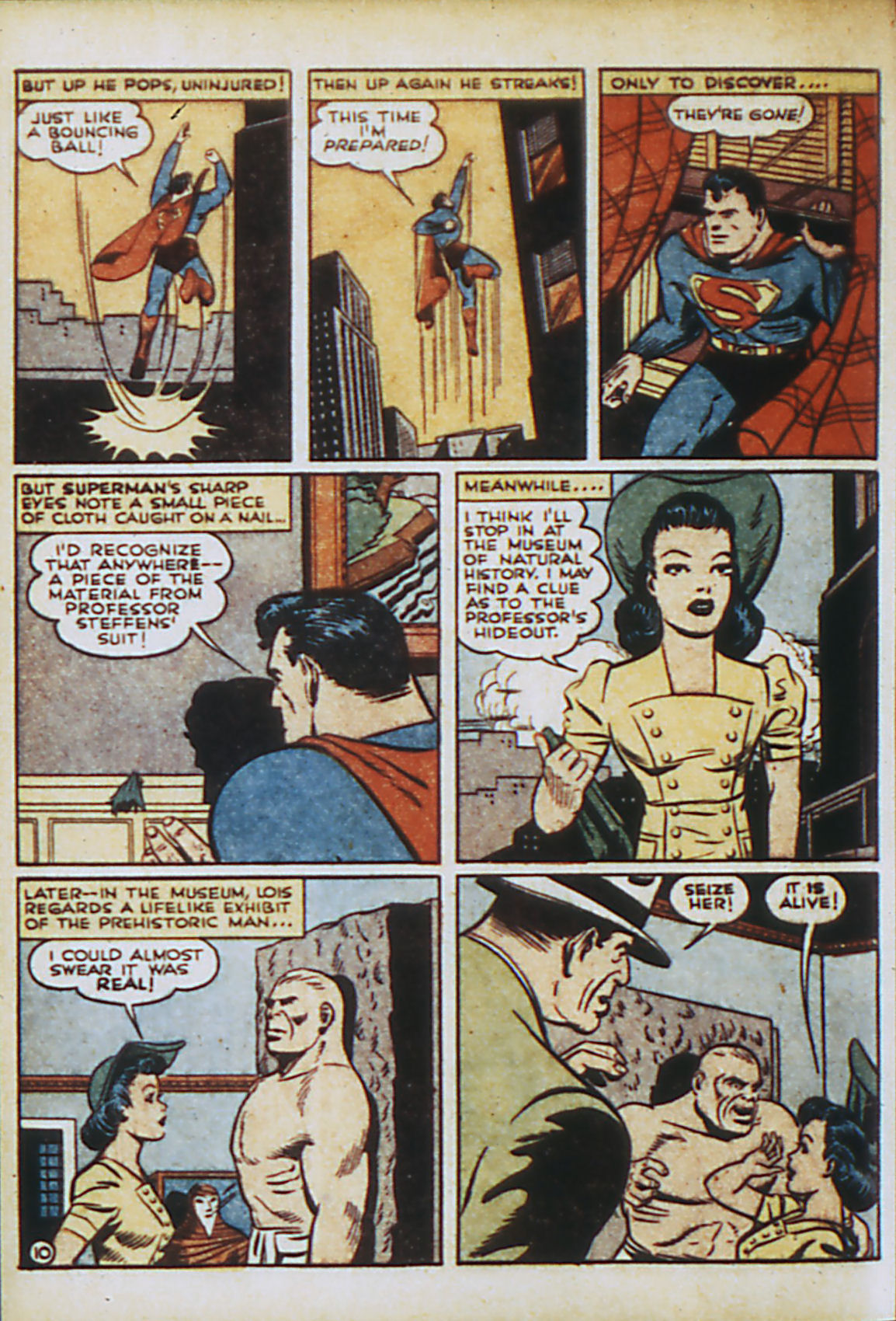 Read online Action Comics (1938) comic -  Issue #44 - 13