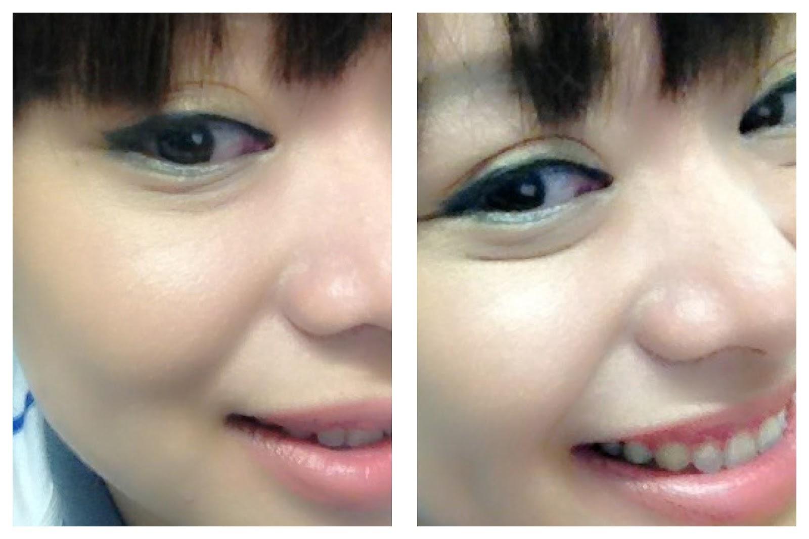 Bags under eyes makeup
