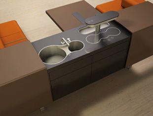 wall art Cozinhe Lounge Conceito em Cozinhas Planejadas