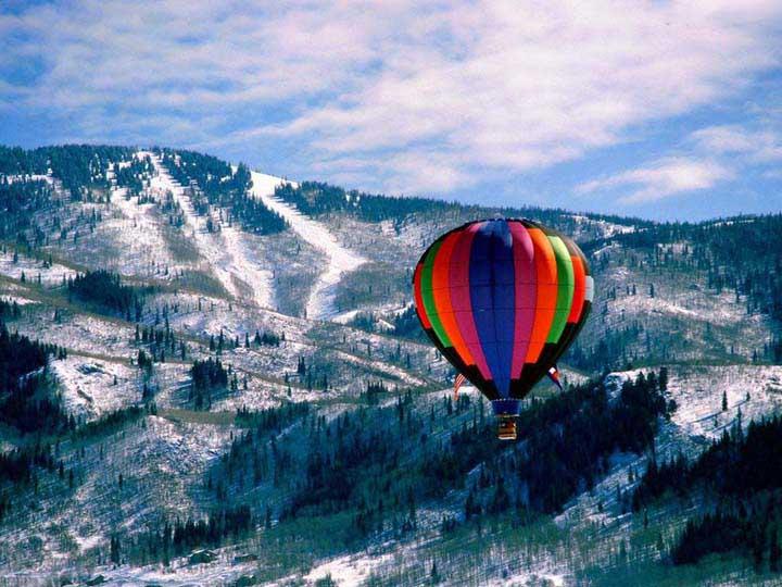dağ manzaralı kış resimleri